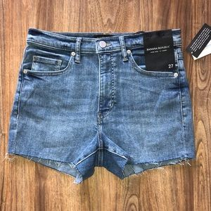Banana Republic high rise shorts.